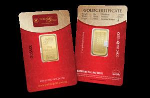 public gold 10 gram classic